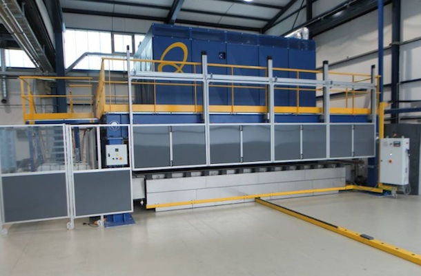 Qure machine at Quickstep's Munich facility.