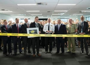 Opening of Boeing's new Currawong facility in Brisbane. Credit: Defence