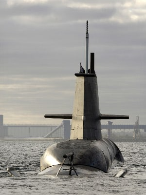 Choosing Australia's Collins class replacement will be a priority for the Abbott government. [Photo:Defence]