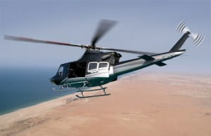 The Bell 412EPI helicopter