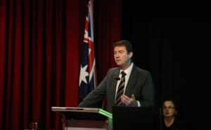 Northrop Grumman Australia chief executive, Ian Irving.