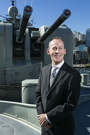 As former  Director General (Submarines) CDRE Peter Scott led efforts in the Navy's highly successful Submarine Enterprise in a period of unprecedented expansion. Credit: IndustryNSW