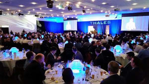 The opening dinner at MilCIS 2016. Credit: ADM (David Jones)