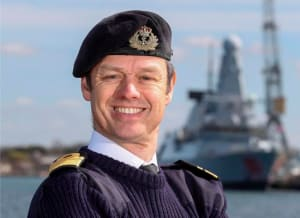 Commander UK Maritime Forces Rear Admiral Alex Burton. Credit: UK MOD