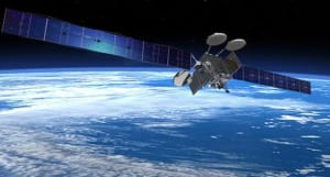 The first two ViaSat-3 satellites will deliver more than twice the total combined network capacity of the approximately 400 commercial communications satellites in space today. Credit: ViaSat