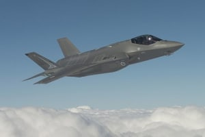 The F-35 Lightning II Joint Strike Fighter. Credit: Defence