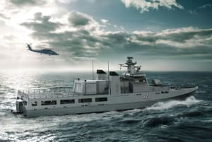 The scholarships will be offered from next year, subject to Lürssen winning Navy's Sea 1180 program