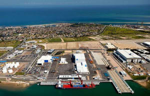 The Techport Australia site at Osborne, SA. The master plan will prepare the site for delivery of the Offshore Patrol Vessels, Future Frigates and Future Submarines Credit: Techport Australia