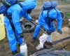 The team is capable of disposing dangerous chemicals uncovered underground.