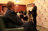 Minister for Veterans' Affairs Senator Michael Ronaldson speaking at the launch on June 11.