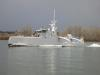 Darpa's Anti-Submarine Warfare Continuous Trail Unmanned Vessel (ACTUV) during speed trials. Credit: DARPA