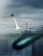 Artist's impression of a US submarine launching the Blackwing. Credit: Aerovironment