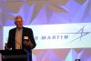Former Chief of Navy and Lockheed Martin Australia Board member Chris Ritchie delivered the keynote address at the symposium. Credit: Lockheed Martin Australia