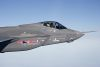 The Danish flag has been painted on the F-35 from the outset as Denmark was one of the original development partners. It has now become the 11th operator. Credit: Lockheed Martin