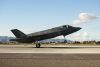 One of the first Australian F-35s at Luke Air Force Base, Arizona. Credit: Defence