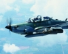 The Embraer Super Tucano is one of two contenders for the LAS program.