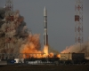 The launch of the IS-22 satellite in Kazakhstan this week.