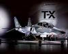 The Boeing/Saab T-X. The single-engine, twin-tail aircraft was presented to the public on 13 September. Credit: Boeing/Saab