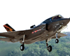 The F-35B short-takeoff-and-vertical-landing.