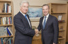 UK Defence Secretary Michael Fallon met with Defnce Industry Minister Christopher Pyne in the UK. Credit: MOD