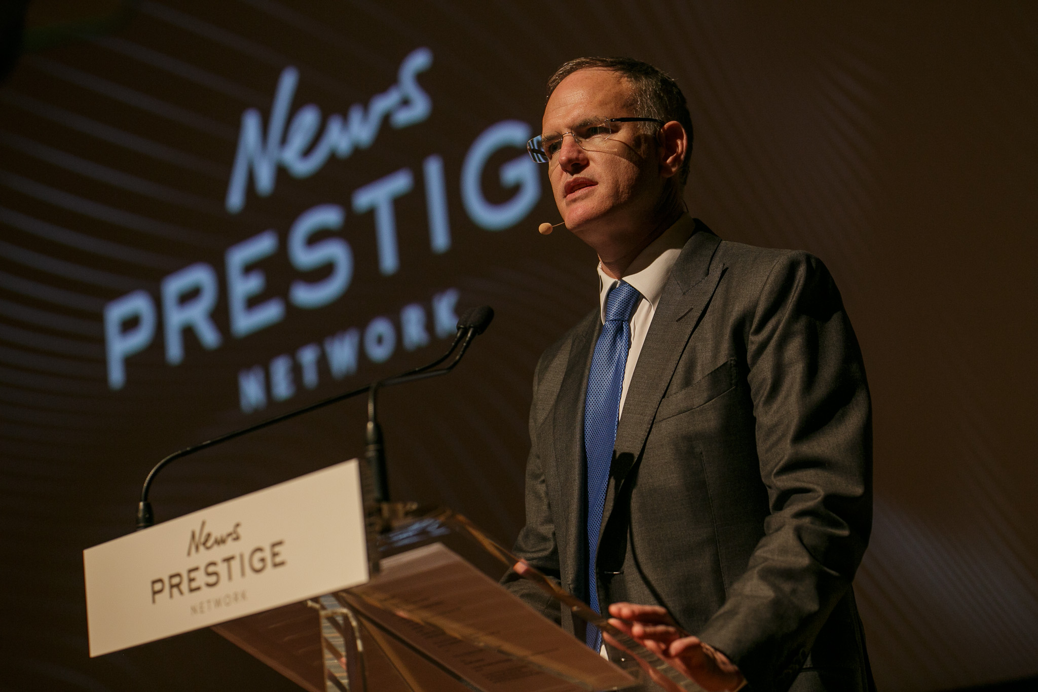 Michael Miller at the News Prestige event