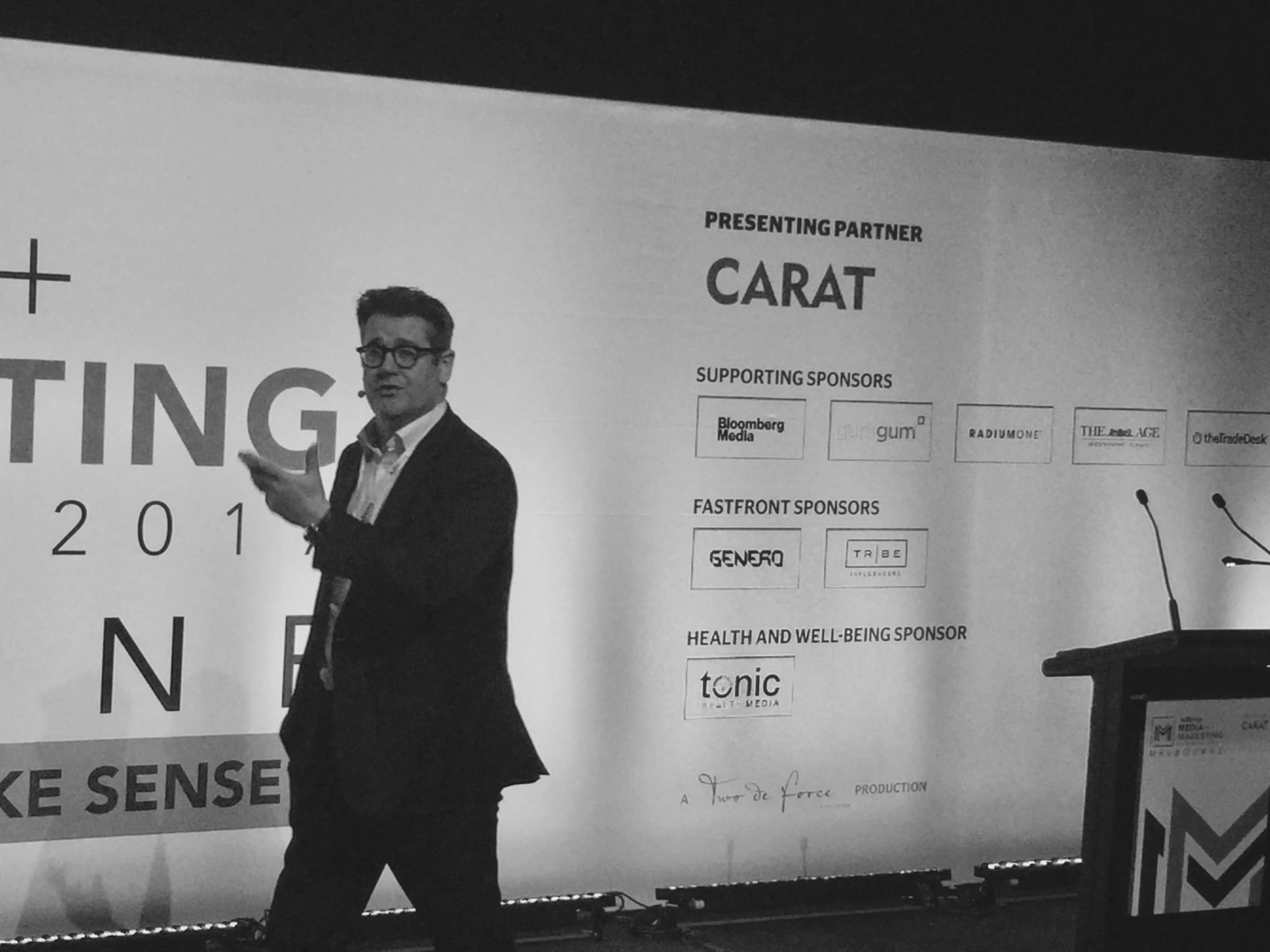 Mark Ritson at AdNews Media & Marketing Summit