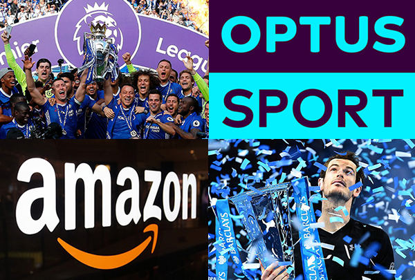 Sports rights Amazon Optus