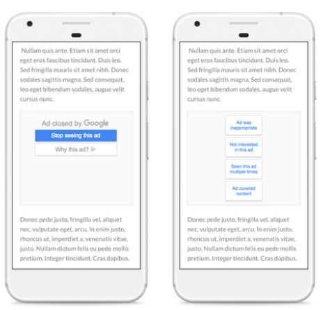 Google now lets users mute reminder ads