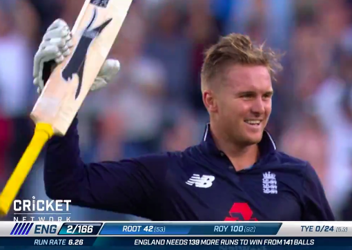 England Jason Roy Nine cricket ODI 2018