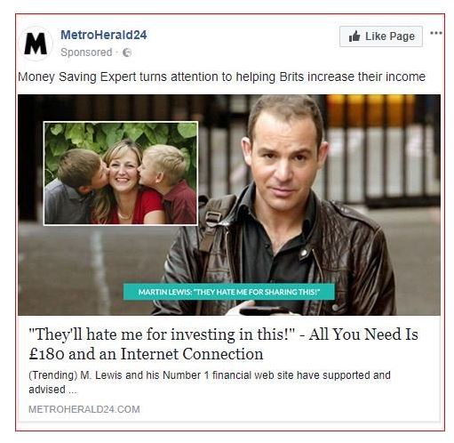 Financial expert taking Facebook to United Kingdom  court over fake ads