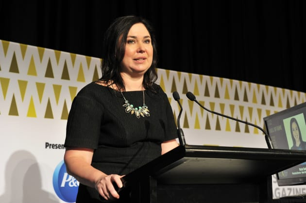 Nicole Sheffield at Australian Magazine Awards