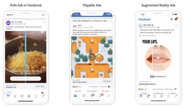 Facebook Making Ads More Playful to Prompt Interactions