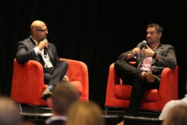 Vic Walia, senior director of brand marketing for Expedia chats with Steve Hunt from Tube Mogul.
