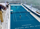 Adidas takes over Bondi Icebergs to promote plastic-free push