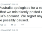 Carat apologies for Twitter gaff - staff disciplinary action to be taken