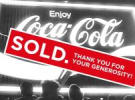 Coke's billboard charity auction exceeds expectations