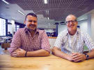 Lavender hires David Lucas and TBWA's Mark Cimarosti