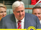 Palmer splashes entire ad budget of major parties in one week
