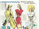 The evolution of the dress in advertising
