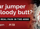 Ooh! Media rejects 'graphic' PETA ad across Melbourne billboards