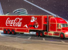 The wheels are off as Coke's festive truck slammed again