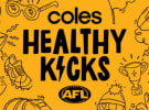 Coles and AFL launch series to encourage healthy choices among children