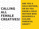 SheSays offers maternity grants to support working mothers