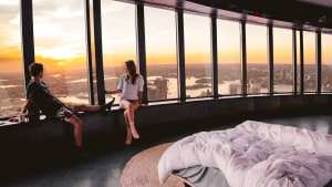 Koala and Sydney Tower Eye offer Sydney's highest sleepover
