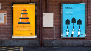 Vic Gov goes graphic in train ads