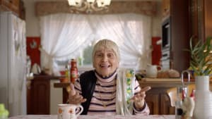 Pushy Nonna promotes pasta sauce for Leggo's from JWT