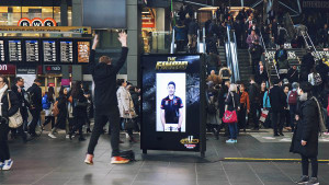 AFL's star players give away free tickets through JCDecaux outdoor