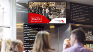 Qantas flies high with outdoor activation from Ooh!Media
