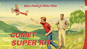 New throwback Myer ad features the classic toy plane