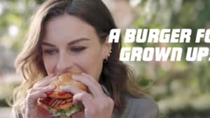 KFC's new Zinger ad: 'It's a burger for grown ups'